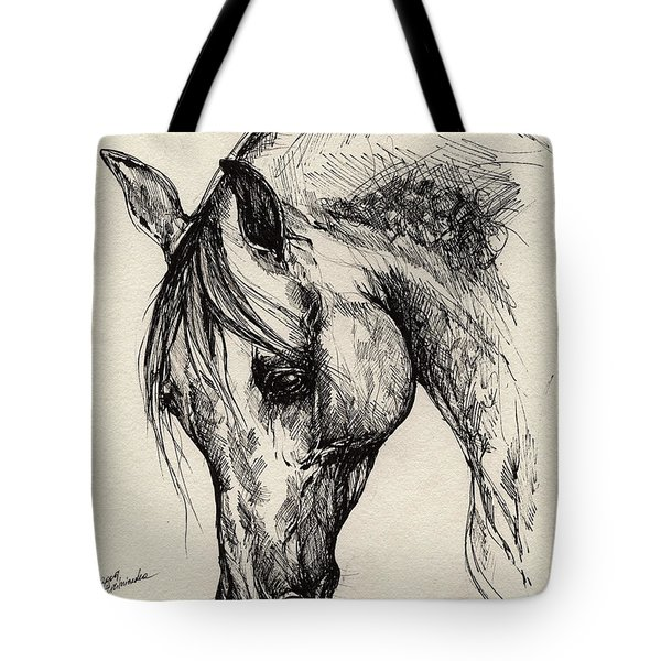Ostragon Tote Bag by Angel  Tarantella