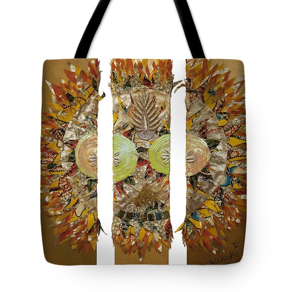 Osun Sun Tote Bag by Apanaki Temitayo M