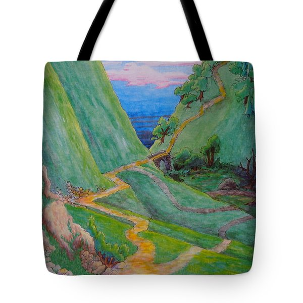 Other Paths Tote Bag