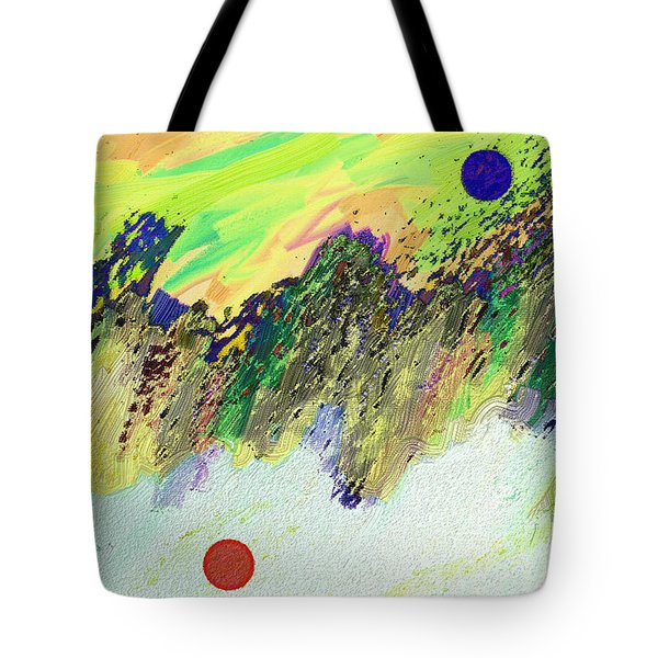 Otherworldly Tote Bag by Lenore Senior