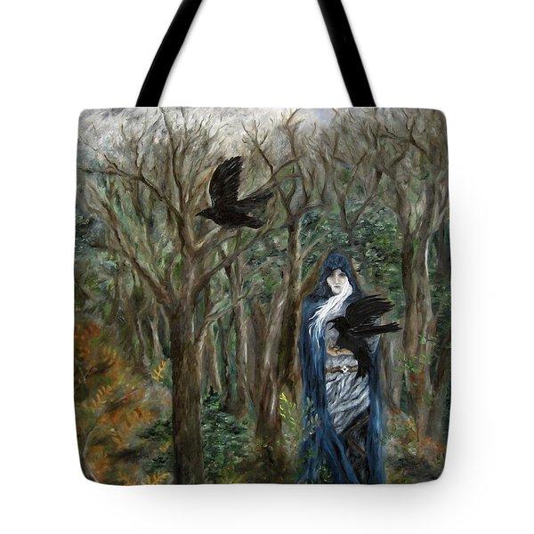 The Raven God Tote Bag