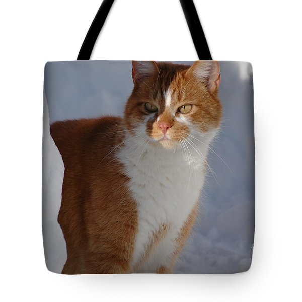 Tote Bag featuring the photograph Otis by Christiane Hellner-OBrien