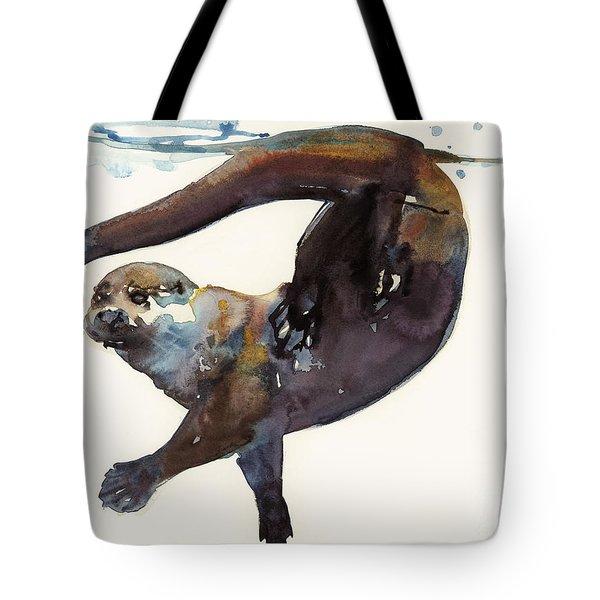 Otter Study II  Tote Bag