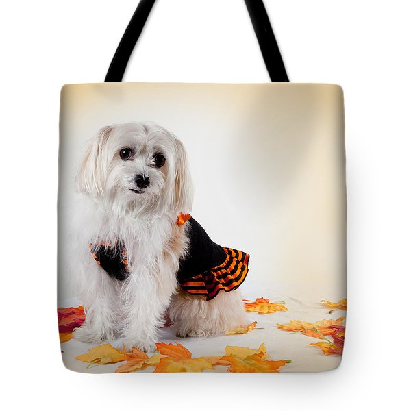 Our Best Friend Tote Bag by Michelle Wiarda