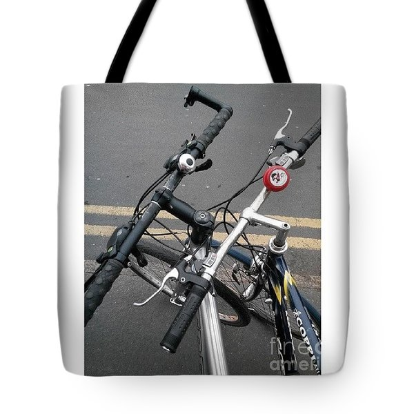 Our Bikes #cycling #bicycle Tote Bag