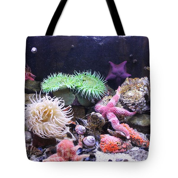 Our Colourful Underwater World Tote Bag
