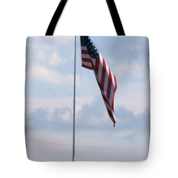 Our Flag Tote Bag by Joseph Baril