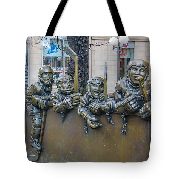 Our Game Tote Bag by Guy Whiteley