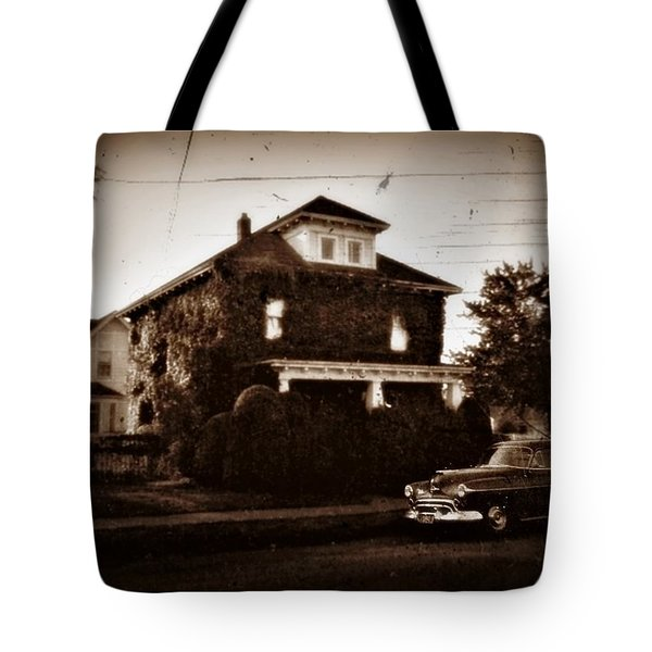 Our House - Private Password Protected Tote Bag by Patricia Strand