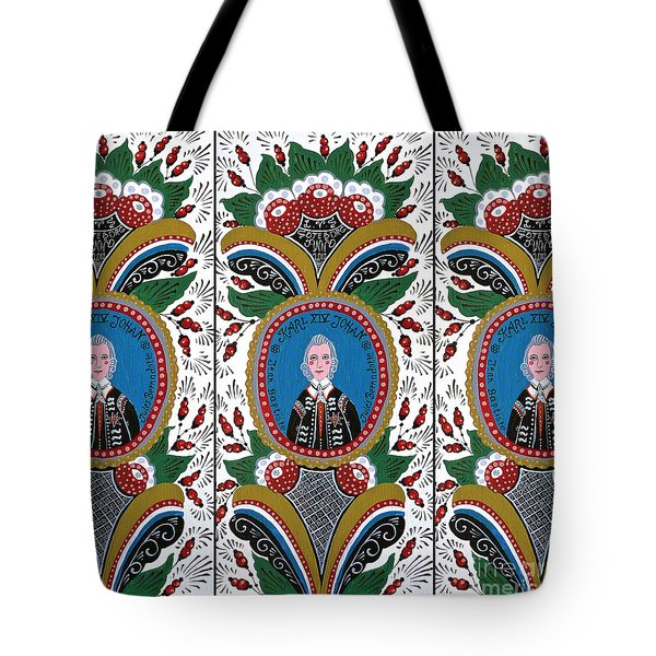 Our King  Tote Bag by Leif Sodergren