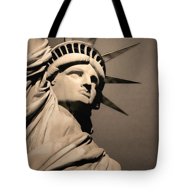 Our Lady Liberty Tote Bag by Dyle   Warren