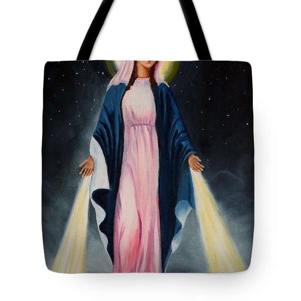 Our Lady Of Grace II Tote Bag