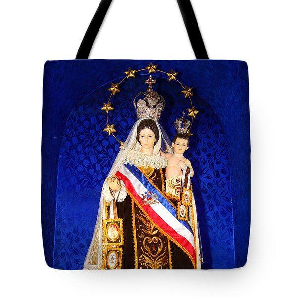 Our Lady Of Mount Carmel Chile Tote Bag