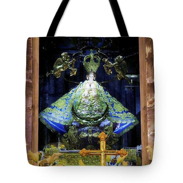 Our Lady Of San Juan De Los Lagos Tote Bag