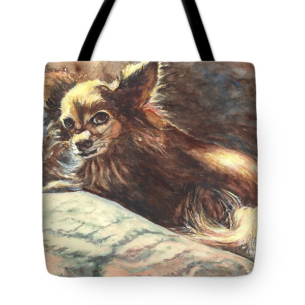Chihuahua Angel Tote Bag