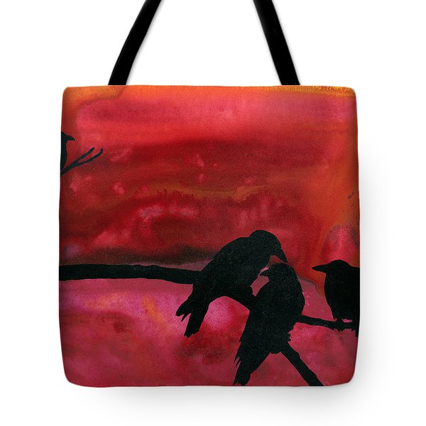 Our Murder Is Not Yours Tote Bag by Jim Stark