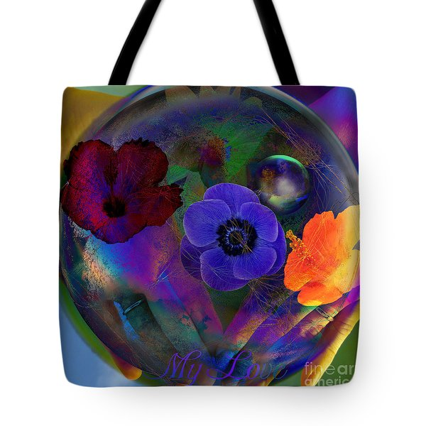 Our Nature Of Love Tote Bag