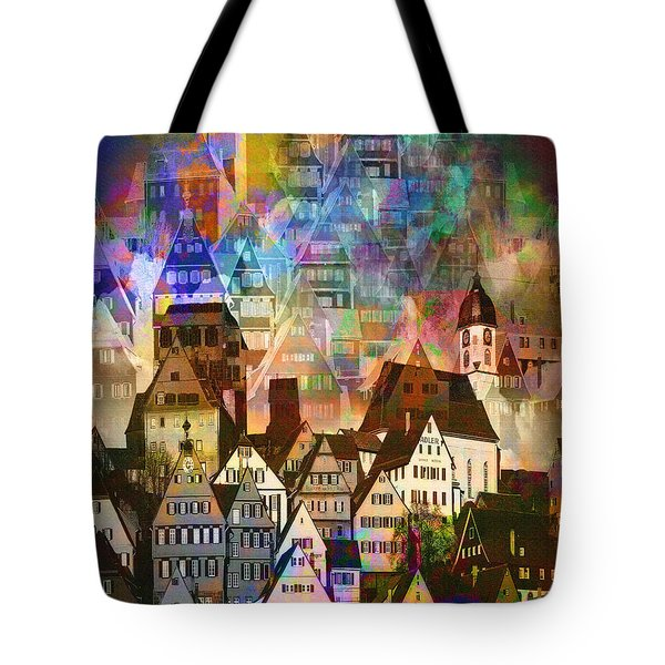 Our Old Town Tote Bag