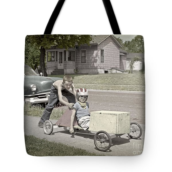 Our Racing Cart Tote Bag