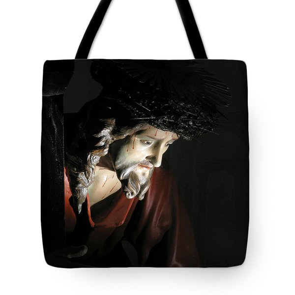 Our Saviour Tote Bag by Richard Faenza