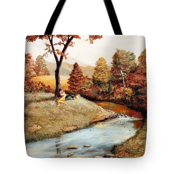 Our Secret Place Tote Bag by Duane R Probus