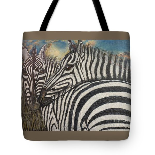 Our Stripes May Be Different But Our Hearts Beat As One Tote Bag