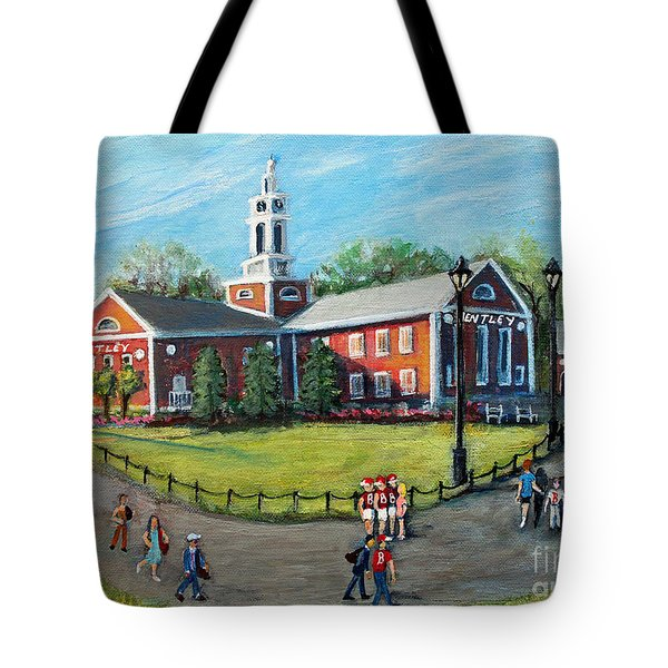 Our Time At Bentley University Tote Bag