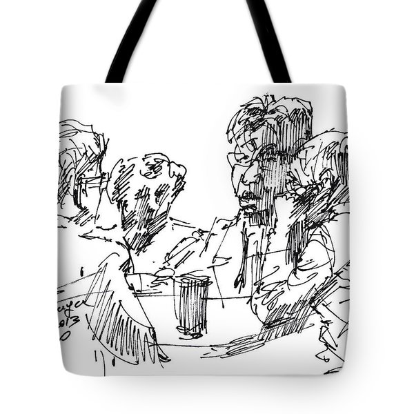 Out For A Coffee 3 Tote Bag