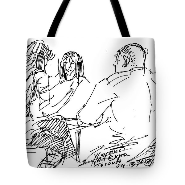Out For A Coffee Tote Bag