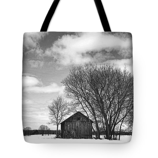 Out In The Sticks Tote Bag by Thomas Young