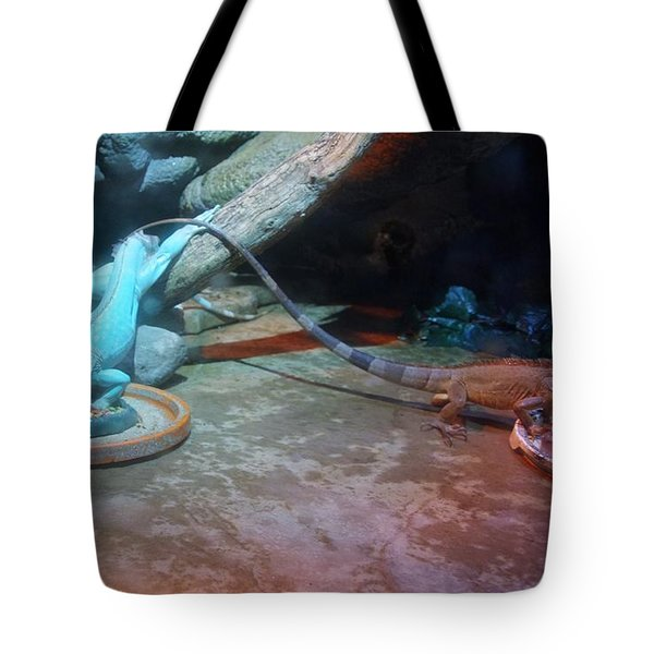 Out Of Africa Lizards Tote Bag