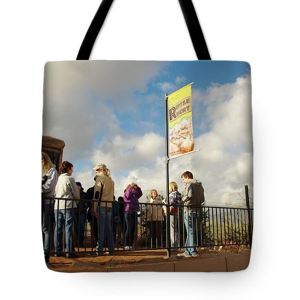 Out Of Africa  Reptile House Tote Bag