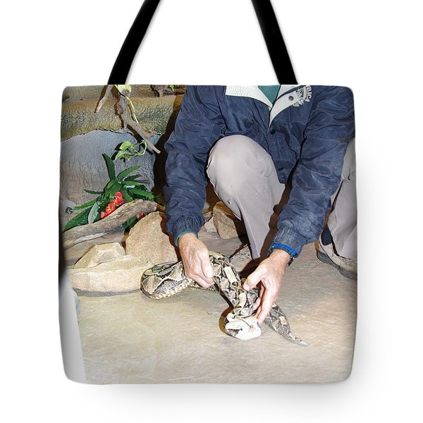 Out Of Africa Viper 1 Tote Bag