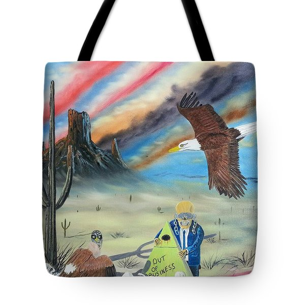Out Of Business II Tote Bag