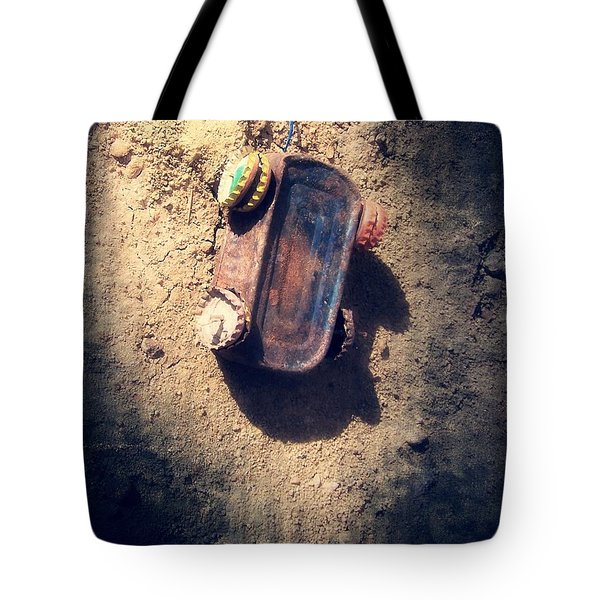 Out Of Gas And Other Resources Tote Bag