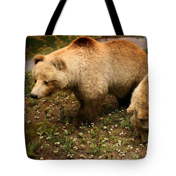 Out Of Hibernation Tote Bag