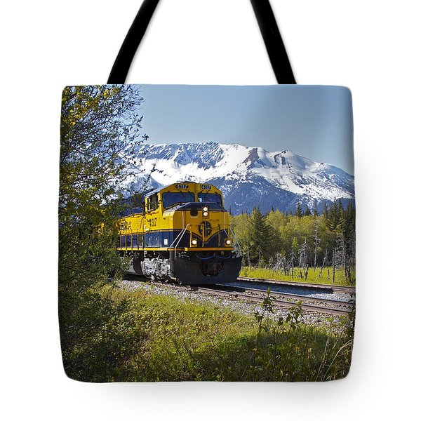 Out Of Place Tote Bag by Rick  Monyahan