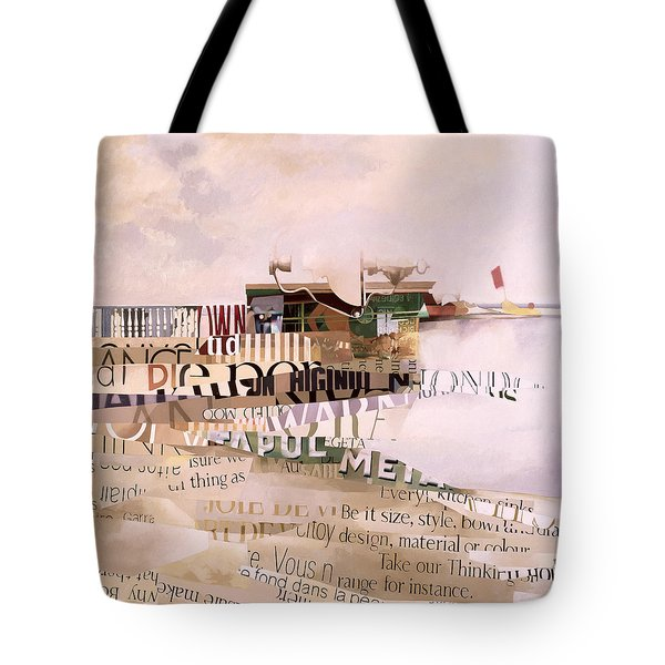 Out Of Season Tote Bag by Jeremy Annett