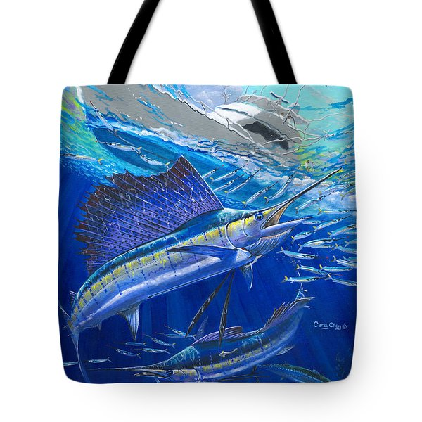 Out Of Sight Tote Bag
