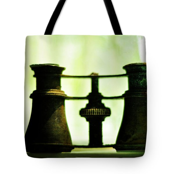Out Of Sight Tote Bag by Rebecca Sherman