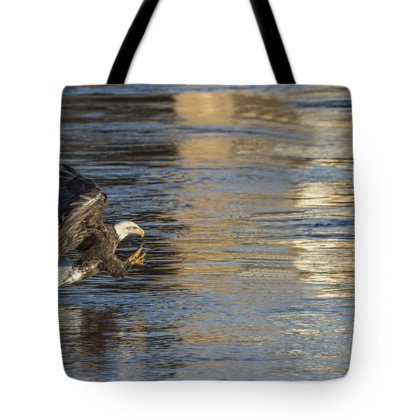 Out Of The Blue And Into The Blue  Tote Bag
