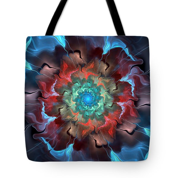 Out Of The Blue Tote Bag by Kim Redd