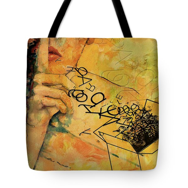 Out Of The Box Tote Bag by Corporate Art Task Force