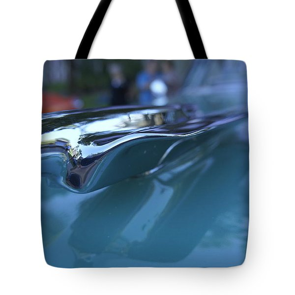 Tote Bag featuring the photograph Out Of The Metal by Laurie Perry