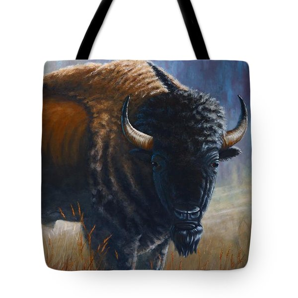 Out Of The Mist Tote Bag by Clay Hibbard