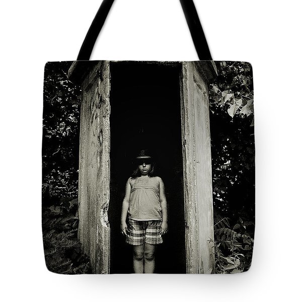 Out Of The Shadows Tote Bag by Mark Miller