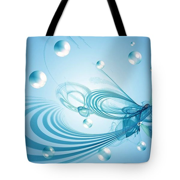 Out Of This World Tote Bag by Peggy Hughes