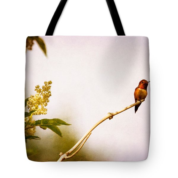 Tote Bag featuring the photograph Out On A Limb by Peggy Collins