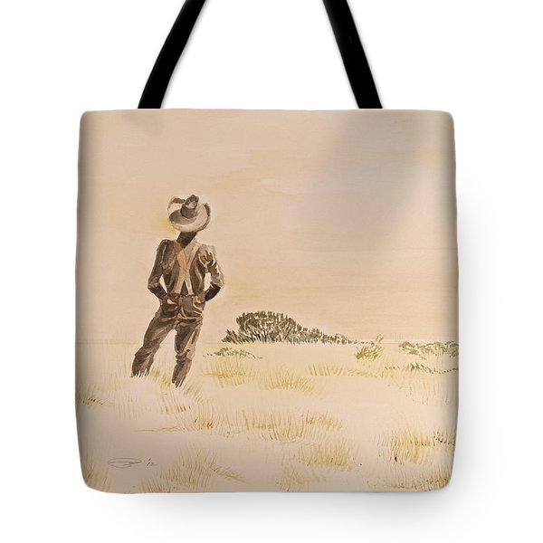 Tote Bag featuring the painting Out There by Michele Myers