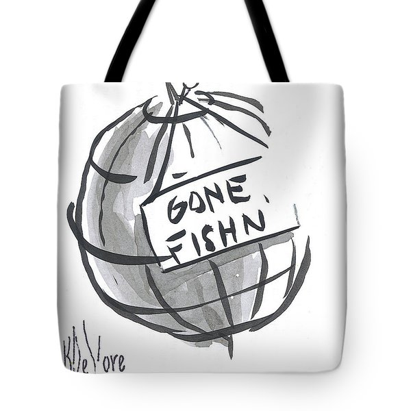 Out To Lunch Tote Bag by Kip DeVore